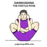Garbhasana - Foetus Pose