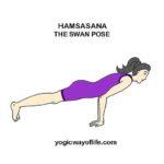 HAMSASANA - Swan Pose