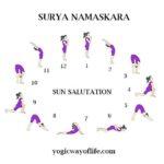 Surya Namskara - Sun Salutation