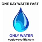 One Day Water Fast
