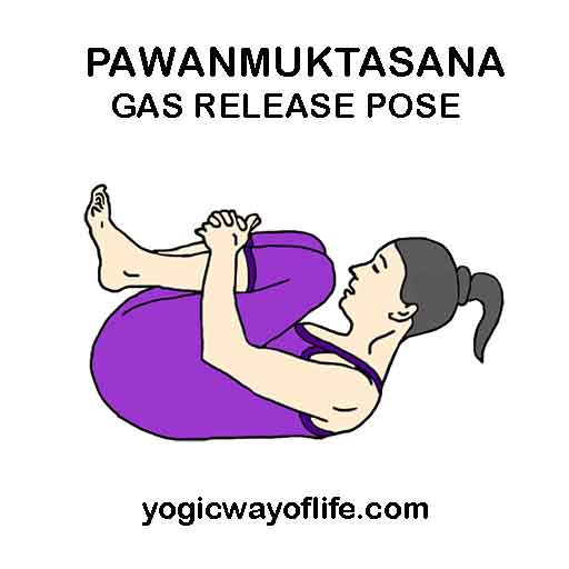 How To Do Pawanmuktasana Gas Release Pose