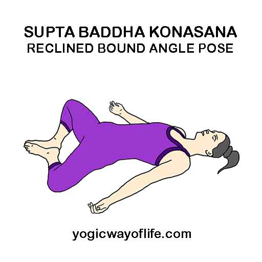 Supta baddha Konasana