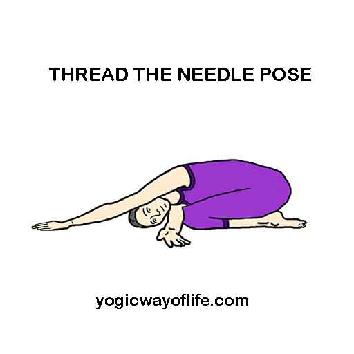 Thread the Needle Pose