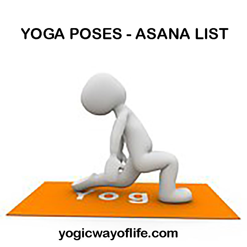 Yoga Poses Asana List With Images
