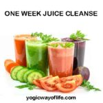 One Week Juice Cleanse