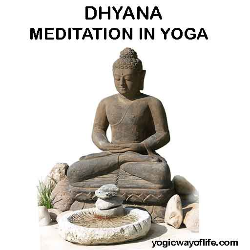 Dhyana - Meditation in Ashtanga Yoga