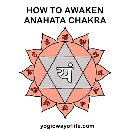 How to Awaken Anahata Chakra or heart centre in kundalini yoga