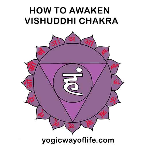 How to awaken Vishuddhi Chakra in Kundalini yoga