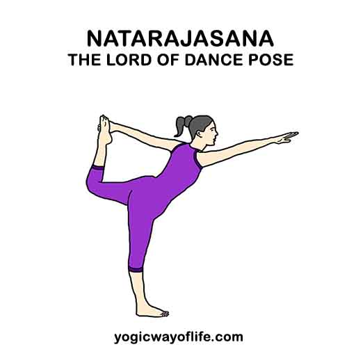Natarajasana - Lord of dance Pose