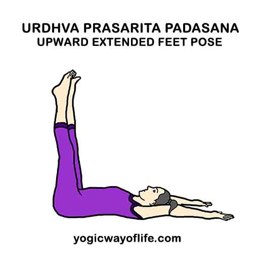 Urdhva Prasarita Padasana - Upward Extended Feet Pose - Yoga Asana